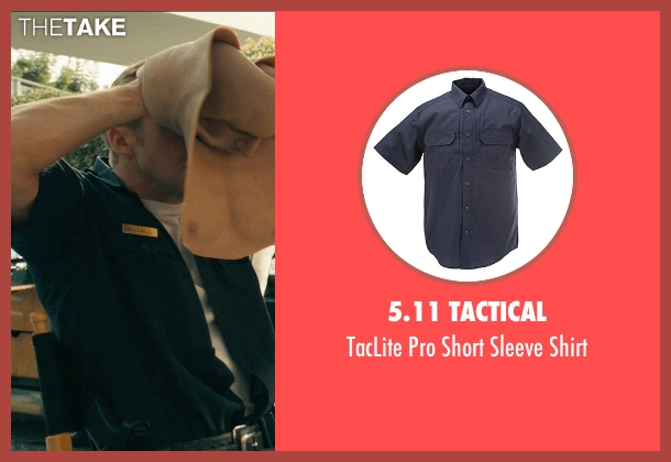 5.11 Tactical black shirt from Drive seen with Ryan Gosling (Driver)