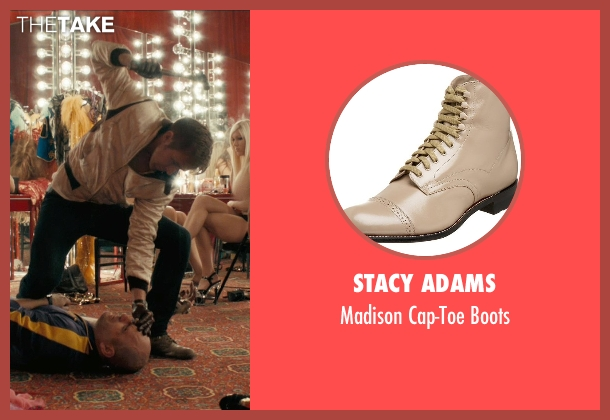 Stacy Adams brown boots from Drive seen with Ryan Gosling (Driver)