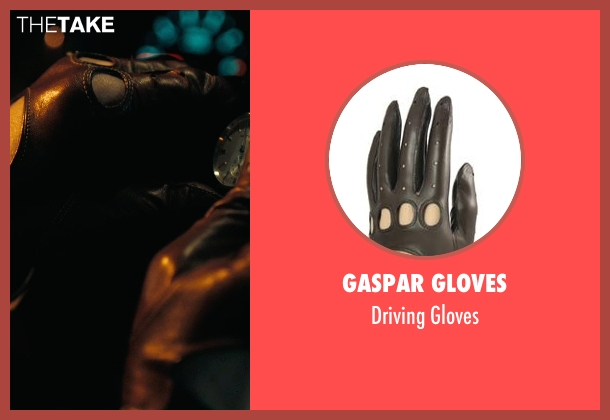 Gaspar Gloves brown gloves from Drive seen with Ryan Gosling (Driver)
