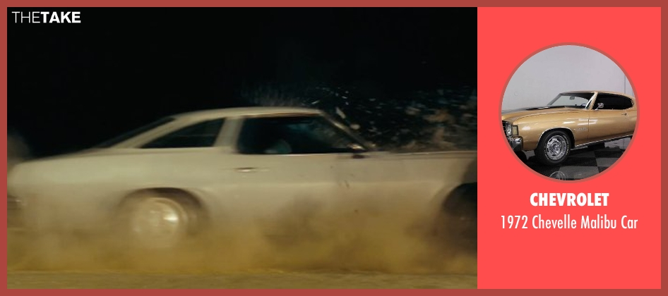 Chevrolet car from Drive seen with Ryan Gosling (Driver)