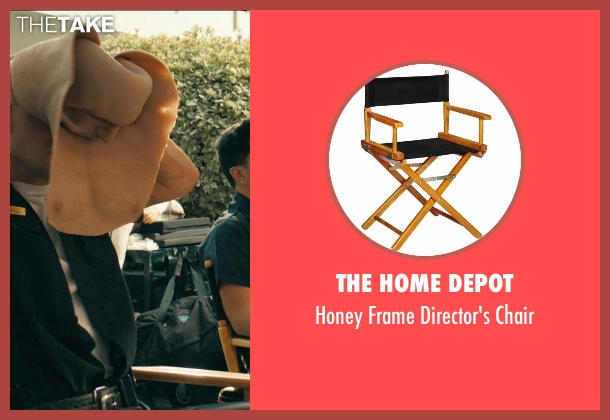 The Home Depot chair from Drive seen with Ryan Gosling (Driver)