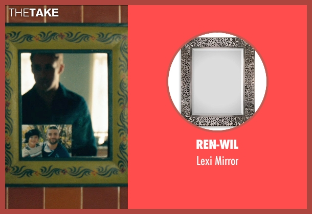 Ren-Wil mirror from Drive seen with Ryan Gosling (Driver)