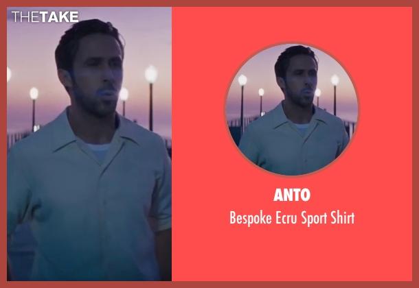 Hugo Boss white shirt from La La Land seen with Ryan Gosling (Sebastian)