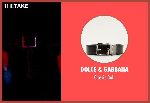 Dolce & Gabbana black belt from Only God Forgives seen with Ryan Gosling (Julian)