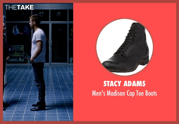 Stacy Adams black boots from Only God Forgives seen with Ryan Gosling (Julian)