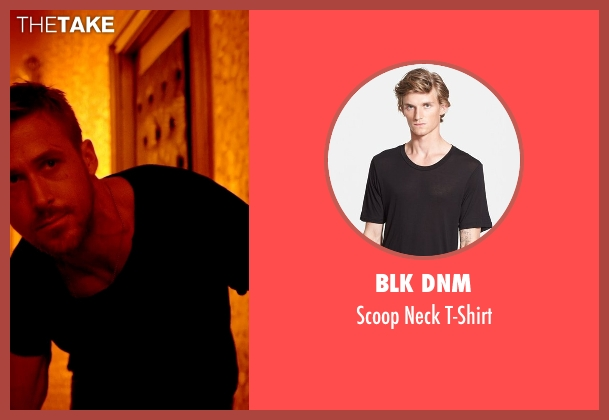 Blk Dnm black t-shirt from Only God Forgives seen with Ryan Gosling (Julian)