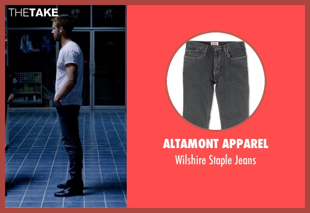 Altamont Apparel gray jeans from Only God Forgives seen with Ryan Gosling (Julian)