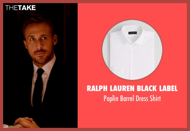 Ralph Lauren Black Label white shirt from Only God Forgives seen with Ryan Gosling (Julian)