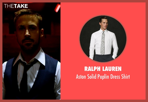 Ralph Lauren white shirt from Only God Forgives seen with Ryan Gosling (Julian)
