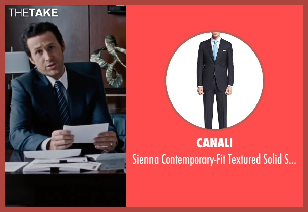 Canali	 black suit from The Big Short seen with Ryan Gosling (Jared Vennett)