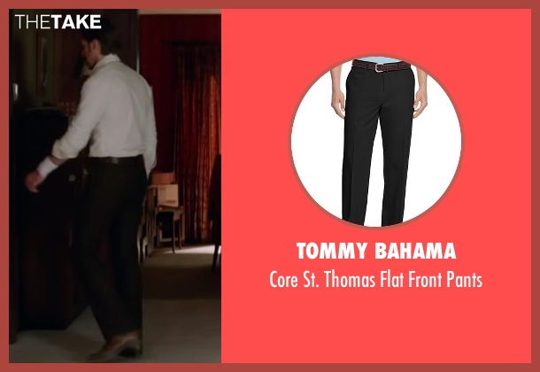 Tommy Bahama black pants from The Nice Guys seen with Ryan Gosling (Holland March)