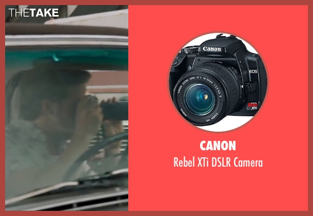 Canon  camera from The Nice Guys seen with Ryan Gosling (Holland March)