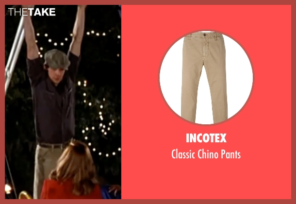 Incotex beige pants from The Notebook seen with Ryan Gosling (Noah)