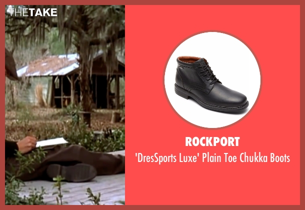 Rockport  black boots from The Notebook seen with Ryan Gosling (Noah)