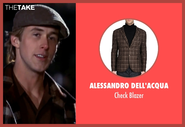 Alessandro Dell'Acqua brown blazer from The Notebook seen with Ryan Gosling (Noah)