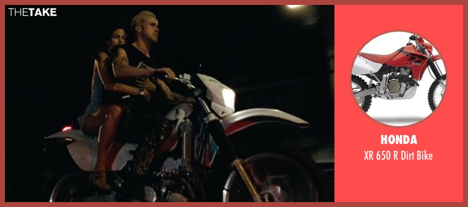 Honda bike from The Place Beyond The Pines seen with Ryan Gosling (Luke)