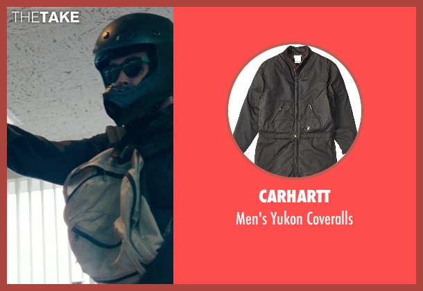 Carhartt black coveralls from The Place Beyond The Pines seen with Ryan Gosling (Luke)