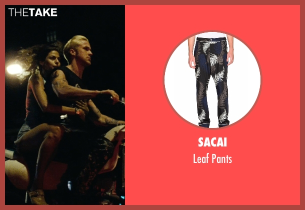 Ryan Gosling Sacai Leaf Pants from The Place Beyond The ...