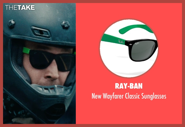 Ray-Ban green sunglasses from The Place Beyond The Pines seen with Ryan Gosling (Luke)