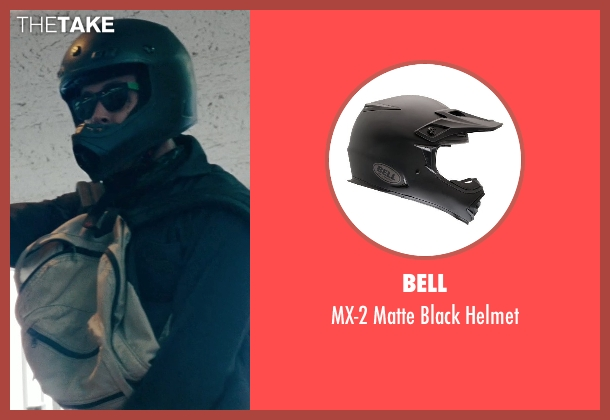 Bell helmet from The Place Beyond The Pines seen with Ryan Gosling (Luke)