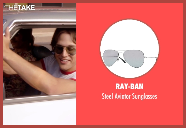 Ray-Ban gray sunglasses from Everybody Wants Some seen with Ryan Guzman (Roper)