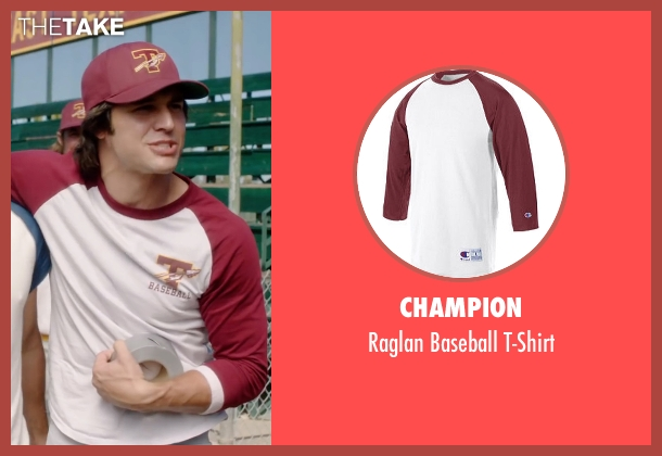 Champion white t-shirt from Everybody Wants Some seen with Ryan Guzman (Roper)