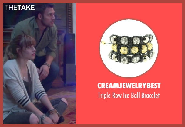 Creamjewelrybest brown bracelet from Jem and the Holograms seen with Ryan Guzman (Rio Pacheco)