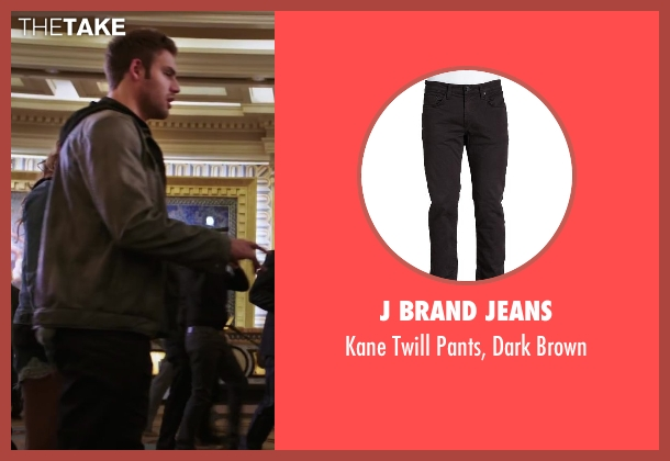 J Brand Jeans black brown from Step Up: All In seen with Ryan Guzman (Sean)