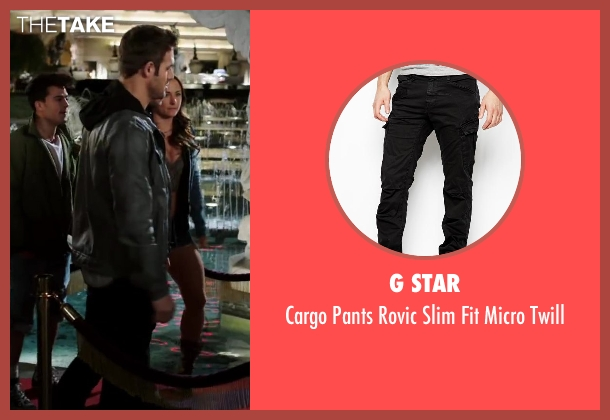 G Star black twill from Step Up: All In seen with Ryan Guzman (Sean)