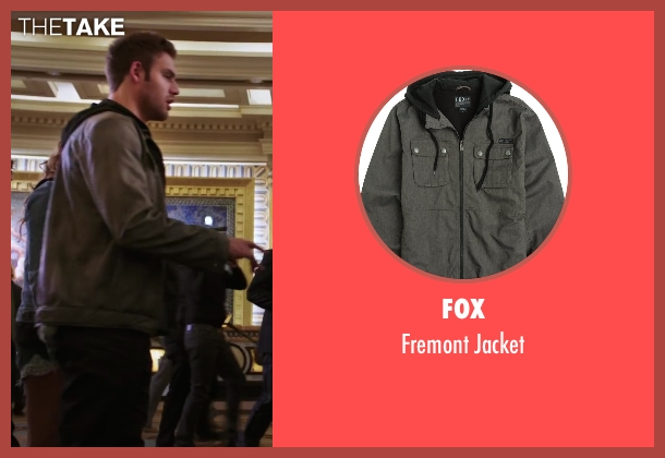 Fox gray jacket from Step Up: All In seen with Ryan Guzman (Sean)
