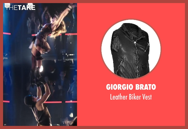 GIORGIO BRATO vest from Step Up: All In seen with Ryan Guzman (Sean)