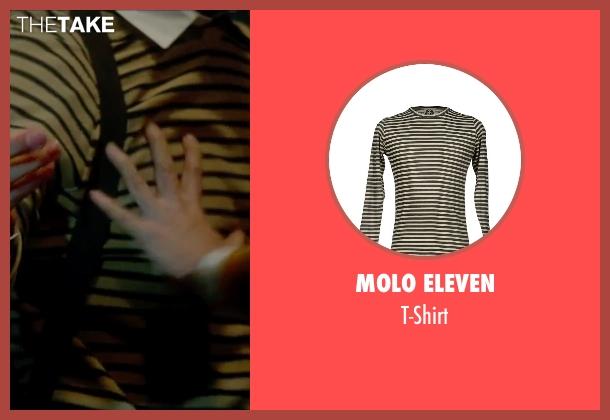 Molo Eleven beige t-shirt from The Boy Next Door seen with Ryan Guzman (Noah Sandborn)