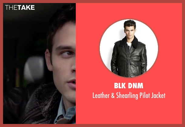 BLK DNM black jacket from The Boy Next Door seen with Ryan Guzman (Noah Sandborn)