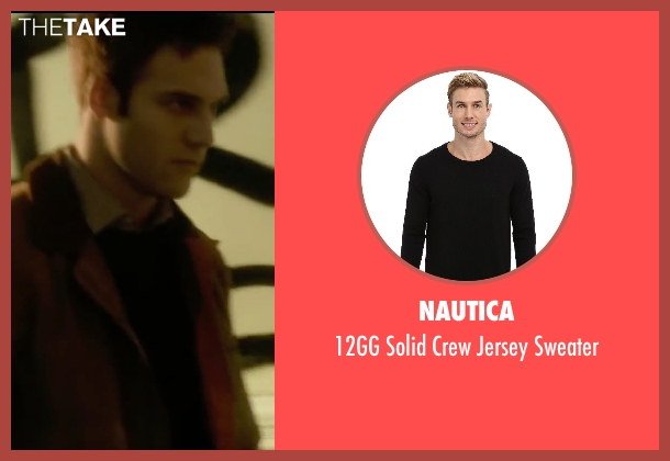 Nautica black sweater from The Boy Next Door seen with Ryan Guzman (Noah Sandborn)