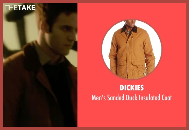 Dickies brown coat from The Boy Next Door seen with Ryan Guzman (Noah Sandborn)