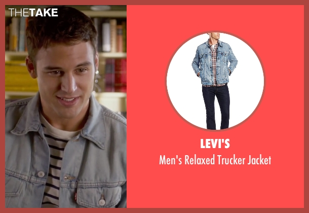 Levi's jacket from The Boy Next Door seen with Ryan Guzman (Noah Sandborn)