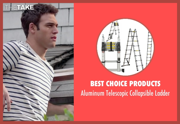 Best Choice Products ladder from The Boy Next Door seen with Ryan Guzman (Noah Sandborn)