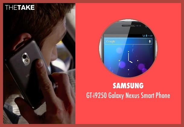Samsung phone from The Boy Next Door seen with Ryan Guzman (Noah Sandborn)