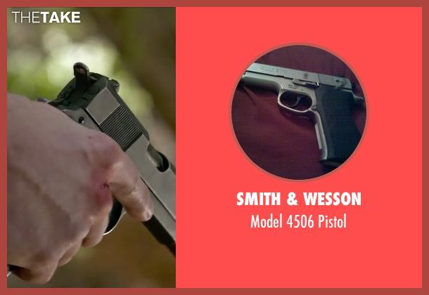 Smith & Wesson pistol from The Boy Next Door seen with Ryan Guzman (Noah Sandborn)