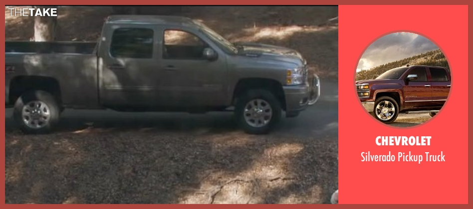 Chevrolet truck from The Boy Next Door seen with Ryan Guzman (Noah Sandborn)