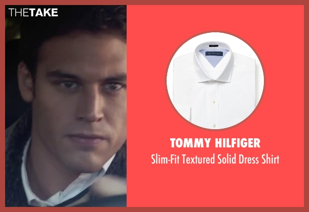 Tommy Hilfiger white shirt from The Boy Next Door seen with Ryan Guzman (Noah Sandborn)