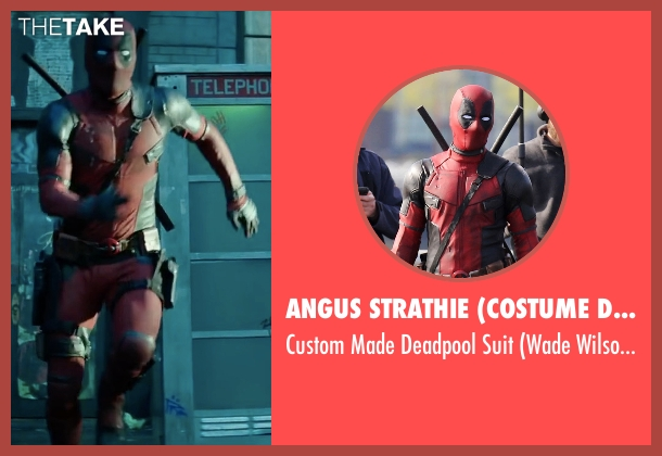 Angus Strathie (Costume Designer) suit from Deadpool 2 seen with Ryan Reynolds (Wade Wilson / Deadpool)