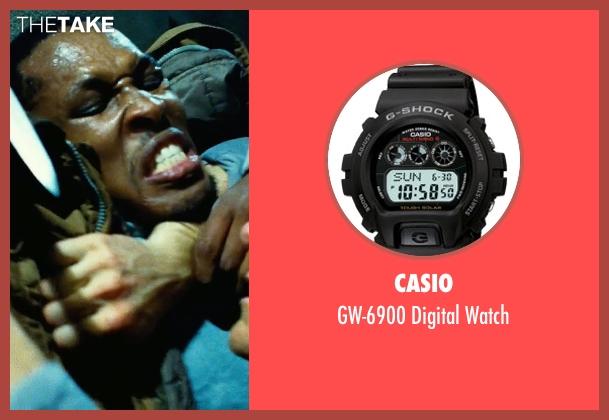 Casio black watch from Safe House seen with Ryan Reynolds (Matt Weston)