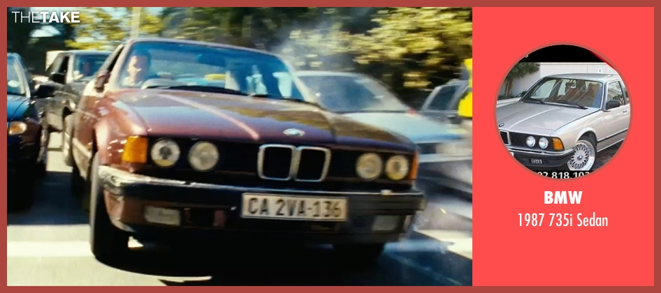 BMW sedan from Safe House seen with Ryan Reynolds (Matt Weston)