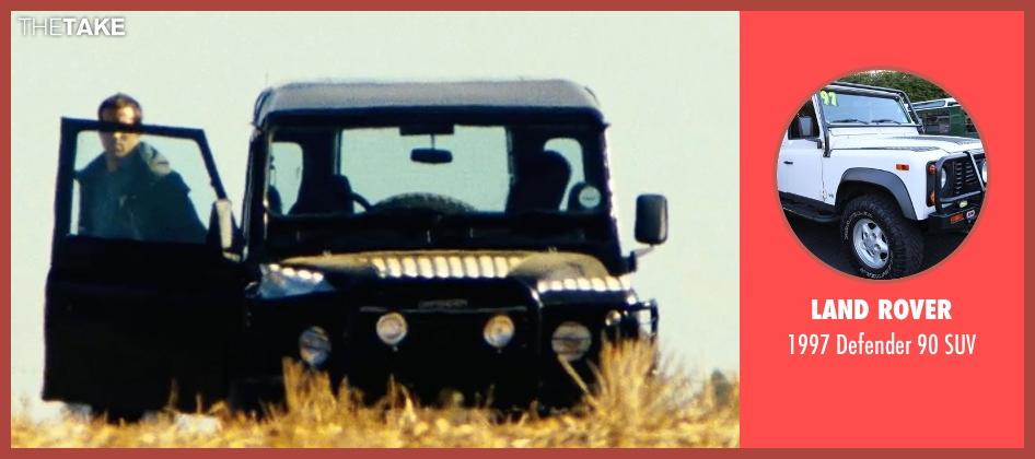 Land Rover suv from Safe House seen with Ryan Reynolds (Matt Weston)