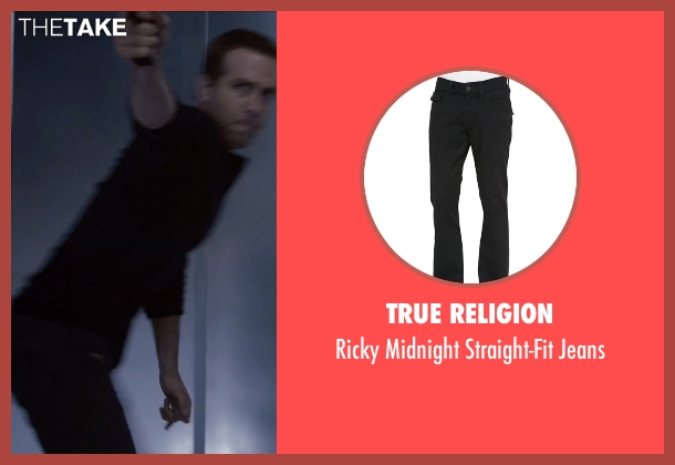 True Religion black jeans from Self/Less seen with Ryan Reynolds (Young Damian)