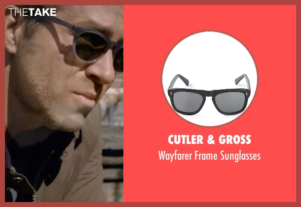 Cutler & Gross black sunglasses from Self/Less seen with Ryan Reynolds (Young Damian)