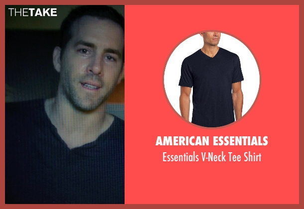 American Essentials blue shirt from Self/Less seen with Ryan Reynolds (Young Damian)
