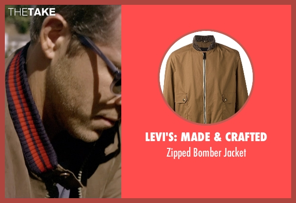 Levi's: Made & Crafted brown jacket from Self/Less seen with Ryan Reynolds (Young Damian)