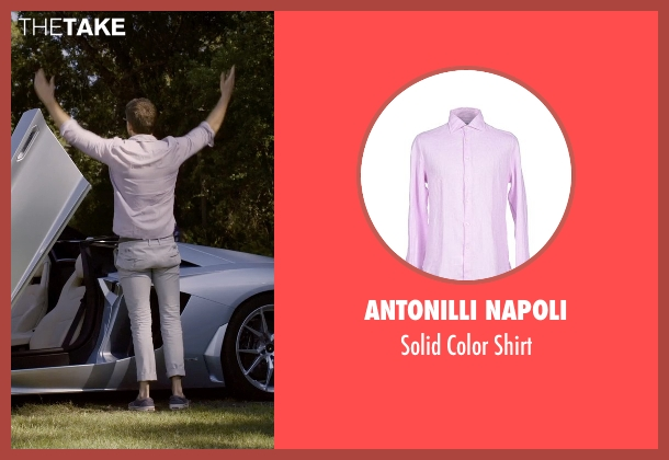 Antonilli Napoli shirt from Self/Less seen with Ryan Reynolds (Young Damian)